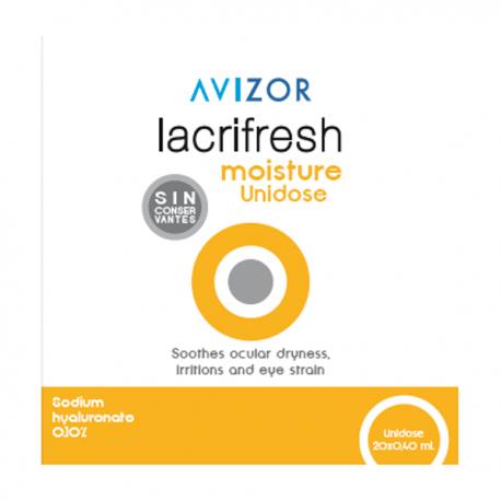 LACRIFRESH MOISTURE, 20 x 0,4ml